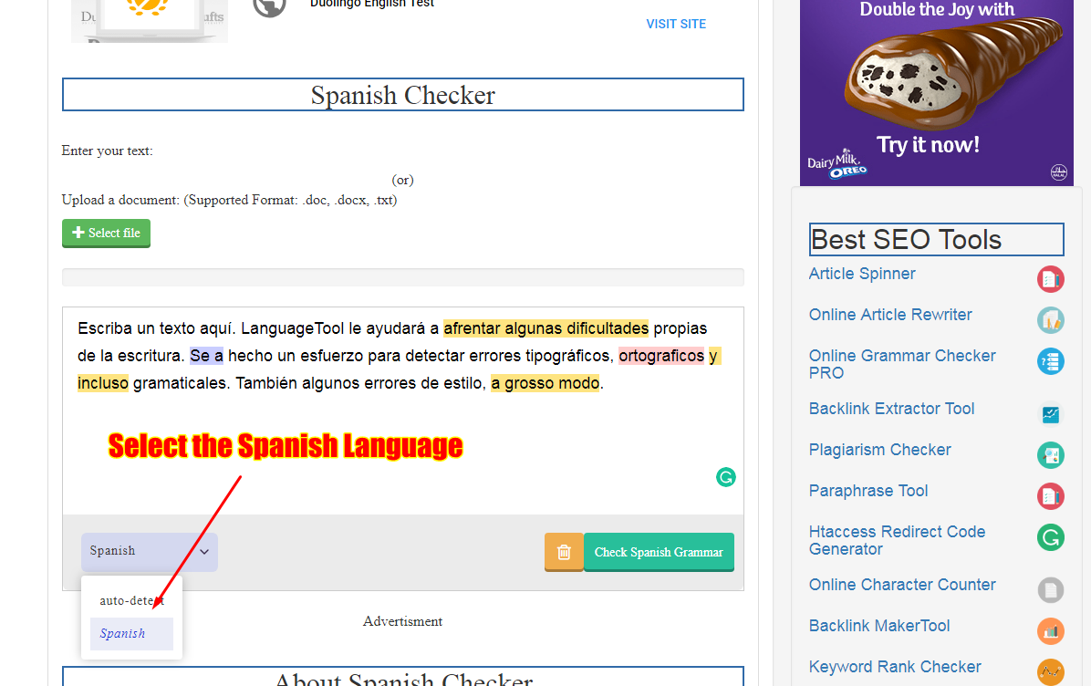 spanish-grammar-checker-guide-select-spanish-language