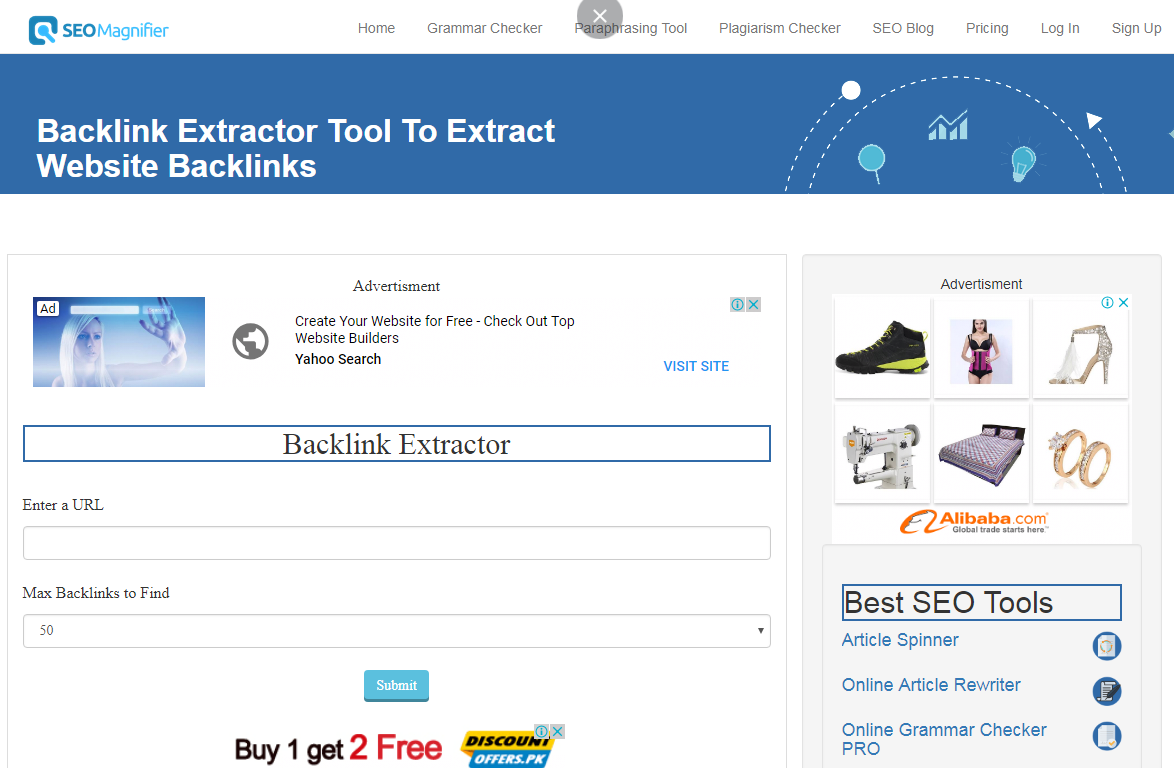 Backlink Extractor