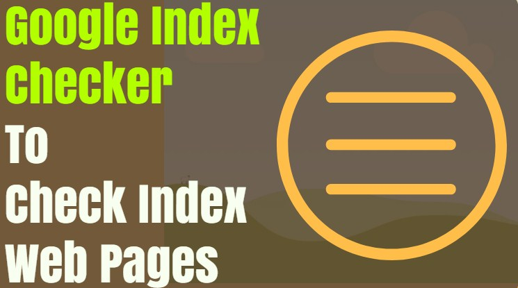 Google Index Webpages Pages Checker