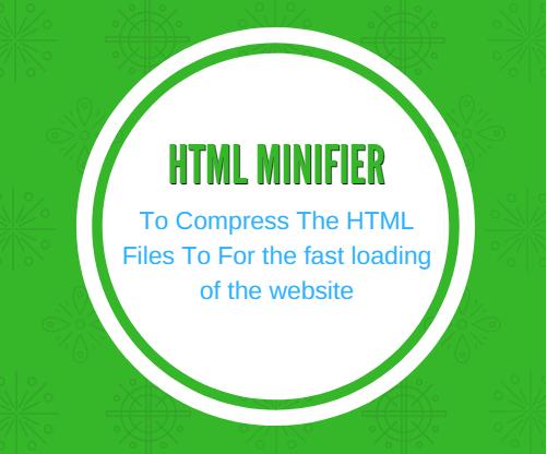 SEO Magnifier Html Minifier