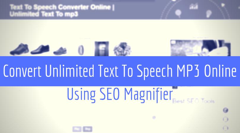 Text To Speech Converter Online