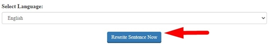 How to rewrite sentence online step 5