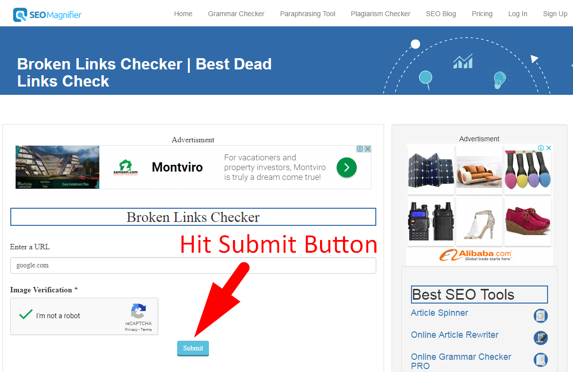 broken link checker tool to check dead links