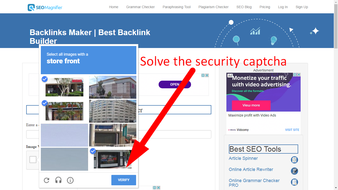 high pr backlink maker using