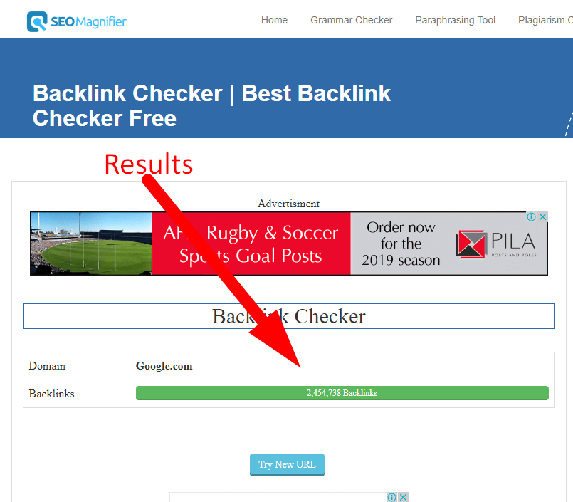 how to check backlinks of a website step 5