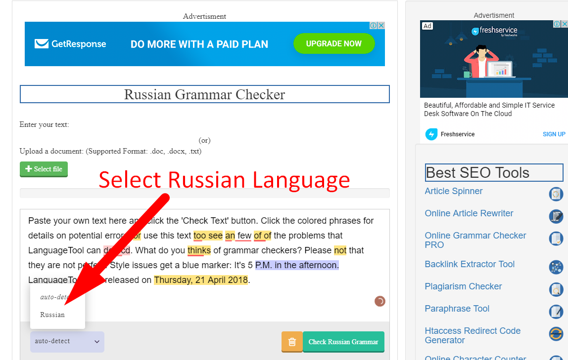 how to check russian grammar online step 4