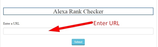 how to check website alexa rank step 1