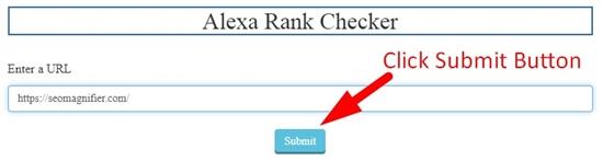 how to check website alexa rank step 2