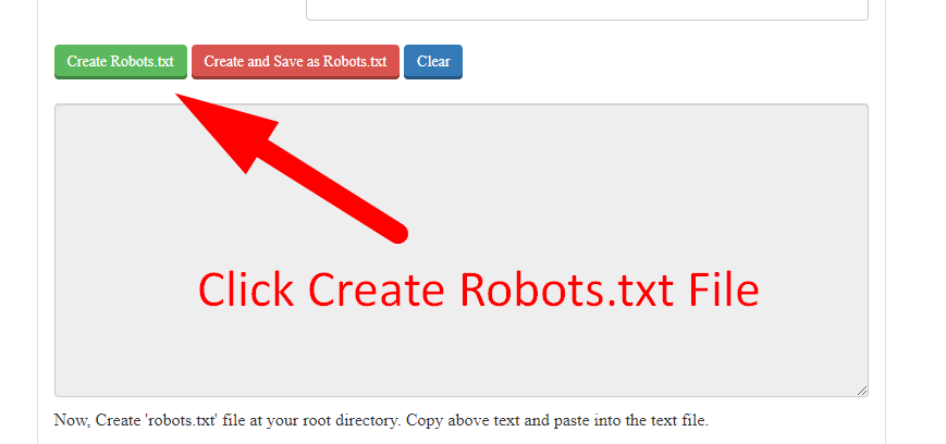 how to create robots.txt file step 6