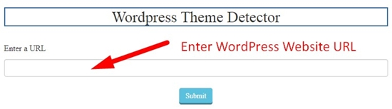 how to detect any WordPress website theme and plugins step 2