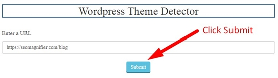 how to detect any WordPress website theme and plugins step 3