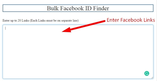 how to find facebook id step 1