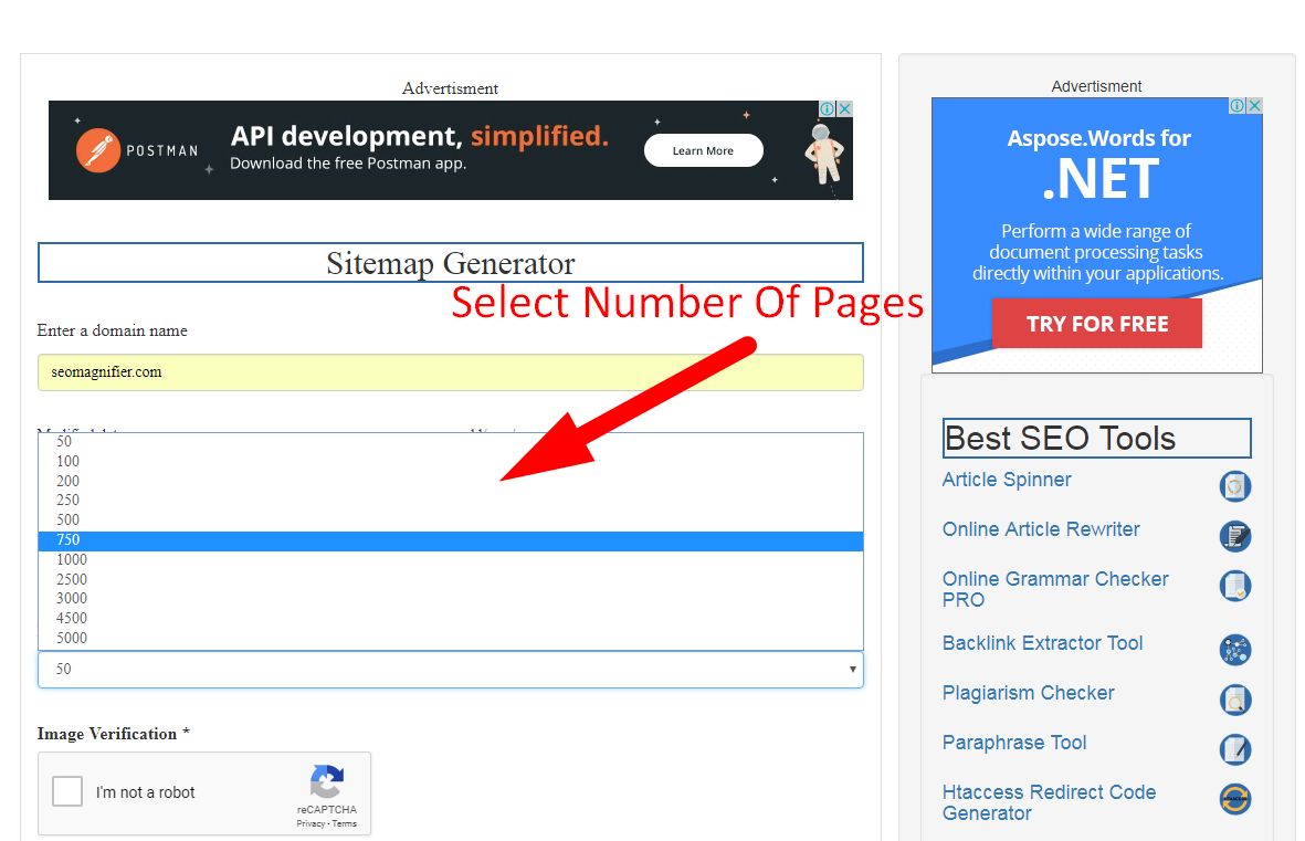 how to generate xml sitemap step 4