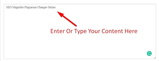 How to remove plagiarism online step 2
