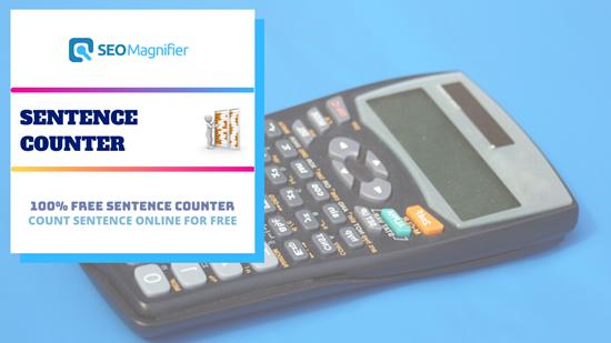 SEO Magnifier Sentence Counter